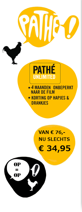 Pathe Unlimited Aanbieding