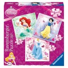 Puzzel Disney Princess 3in1