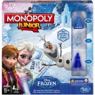 Monopoly Junior Disney Frozen - Kinderspel afb 1