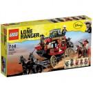 LEGO Lone Ranger Postkoets ontsnapping - 79108 afb 1