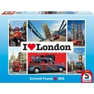 Schmidt Puzzel - I love London