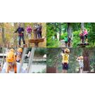 Zips & Ropes Klimpark 10 Attracties 3 uur + Eten