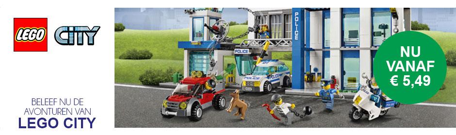 Beleef nu de avonturen van LEGO City