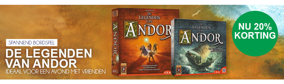 Spannend bordspel: De legenden van Andor