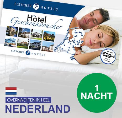 1 nacht met de Fletcher Hotelbon >