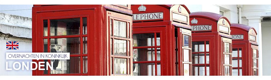 Overnachten in koninklijk Londen >