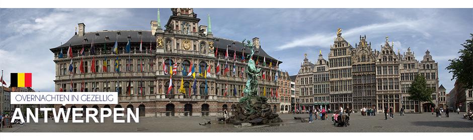 Overnachten in gezellig Antwerpen >
