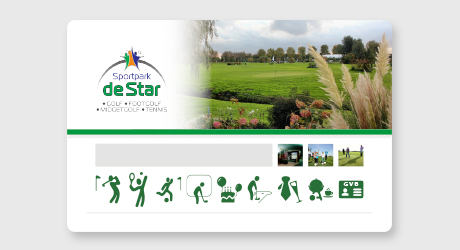 Sportpark de Star Loyalty card