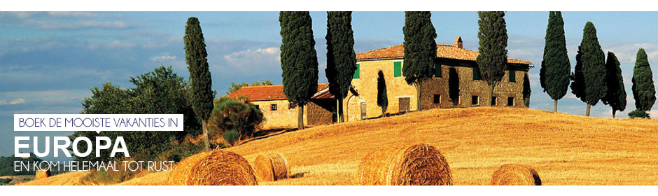 Boek de mooiste vakanties in Europa en kom tot rust in de natuur >